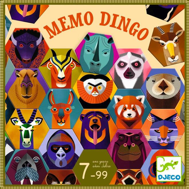 Spel Memo Dingo 7+