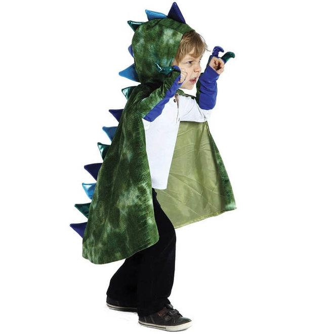 Draken cape met klauwen (5-6 jaar)