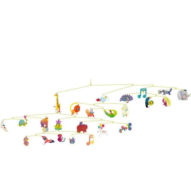 Mobiel Carnaval van de dieren