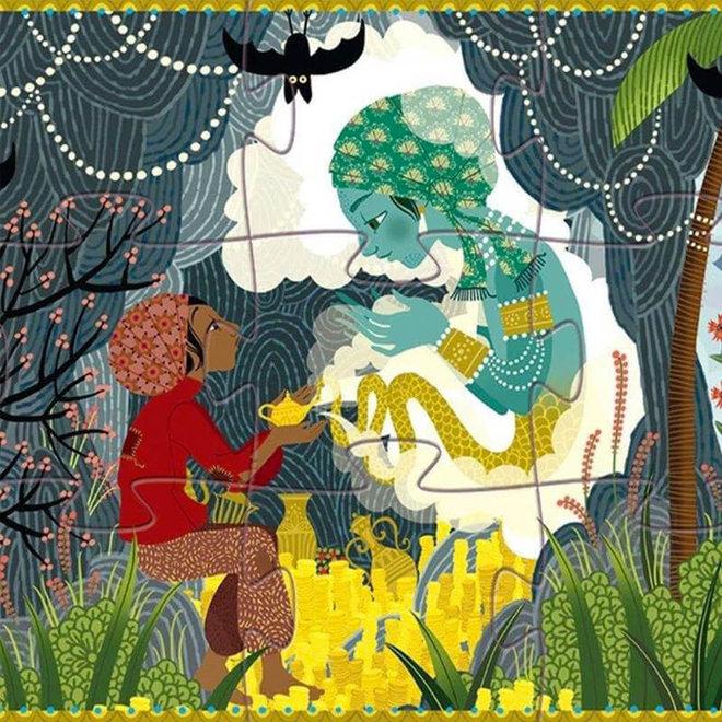 Djeco puzzel sprookje Aladdin (24 stukjes)