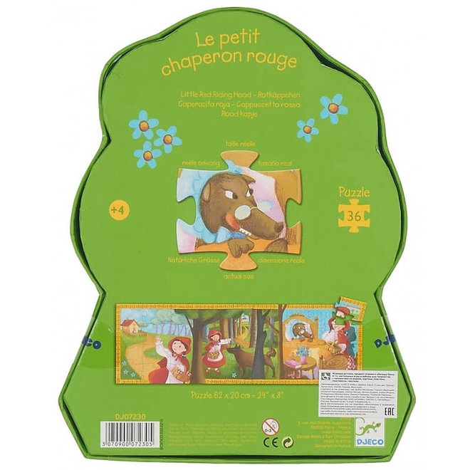 Djeco puzzel sprookje Roodkapje (36 stukjes)