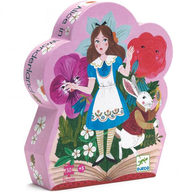 Puzzel Alice in Wonderland (50st) 5+