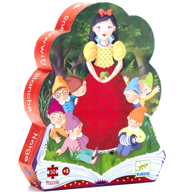 Djeco puzzel sprookje Sneeuwwitje (50 stukjes)
