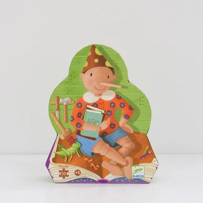 Djeco puzzel sprookje Pinokkio (50 stukjes)