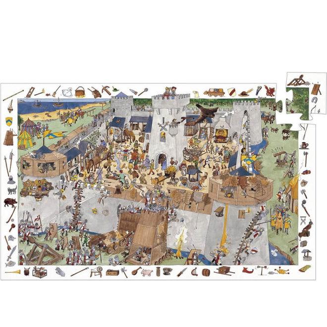 Puzzel ridder kasteel (100st)