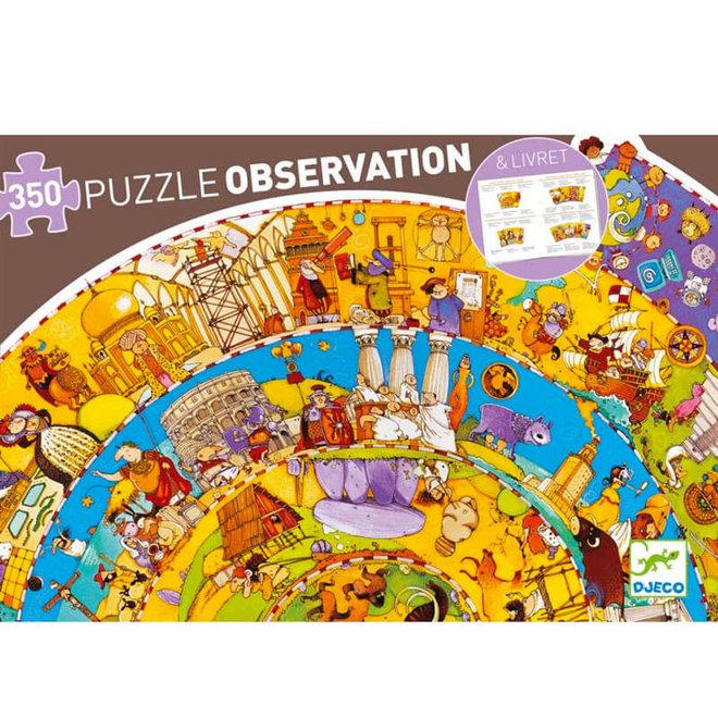 Djeco Puzzel 350 stukjes - Geschiedenis