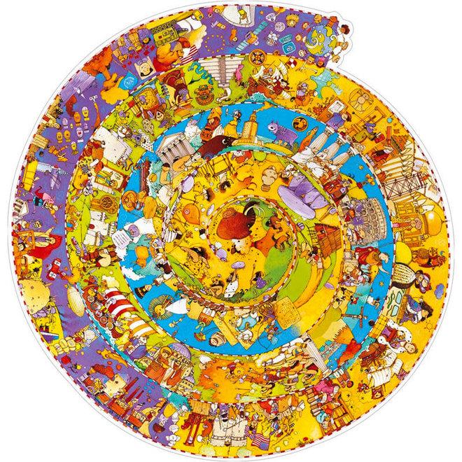 Puzzel 350 stukjes - Geschiedenis