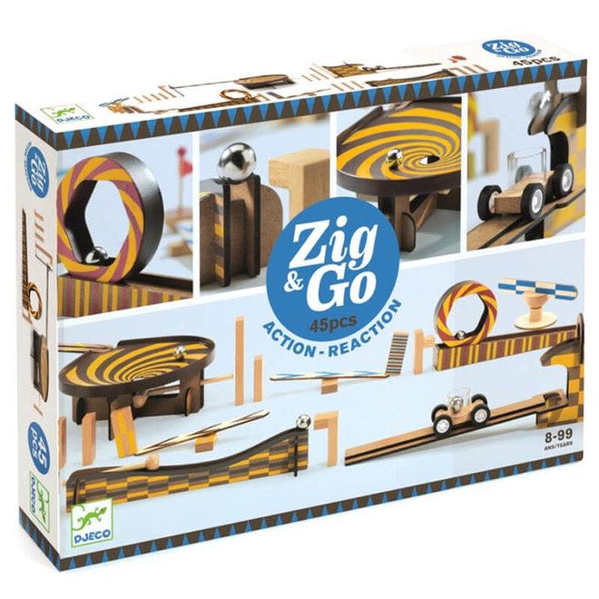 Djezo Zig & Go actie-reactie parcours (45-delig)