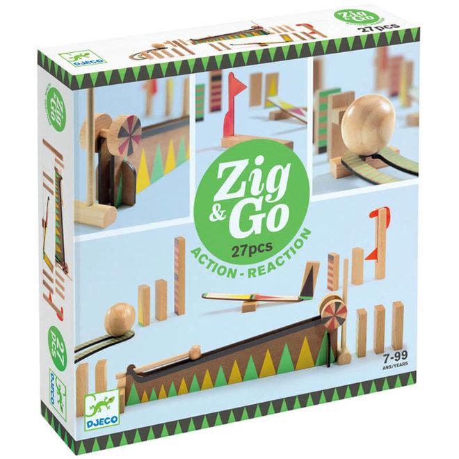 Djeco Zig & Go actie-reactie parcours (27-delig)