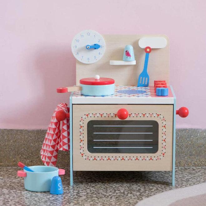 Djeco Keukentje blauw