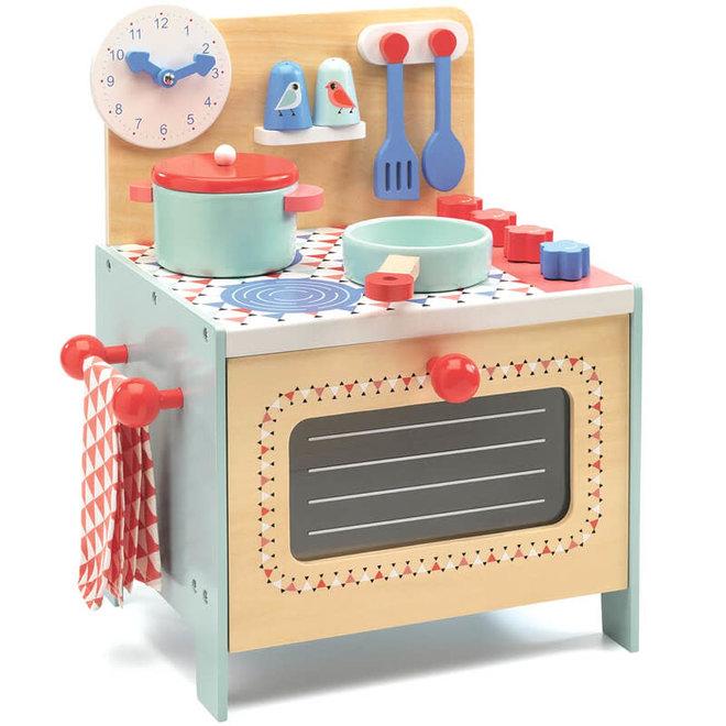 Keukentje blauw