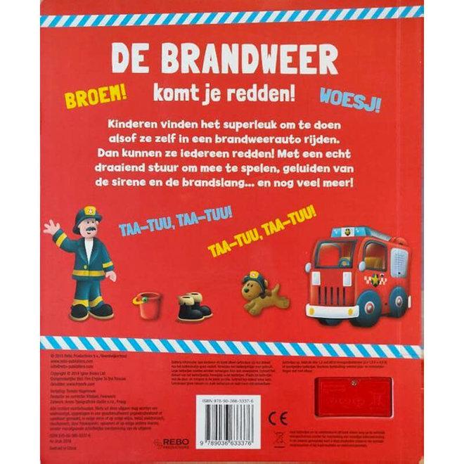 De brandweer komt je redden - Geluidenboek