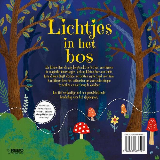 Lichtjes in het bos