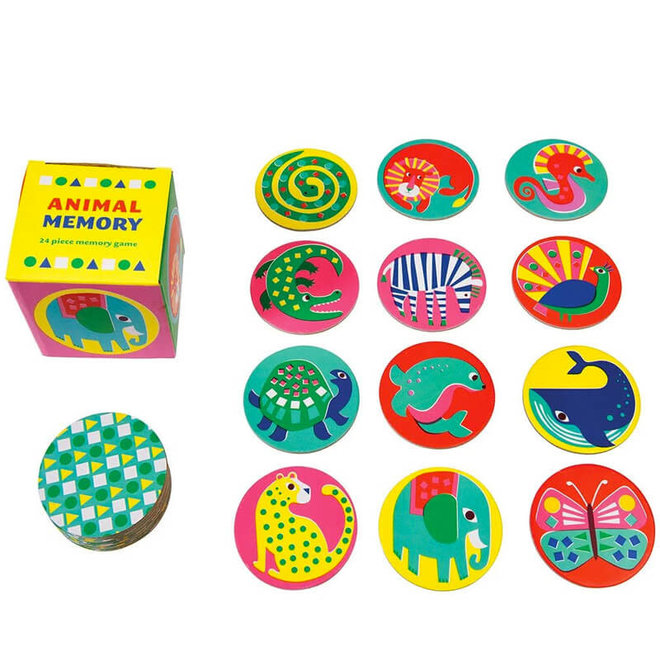Animal Memory spel 2+