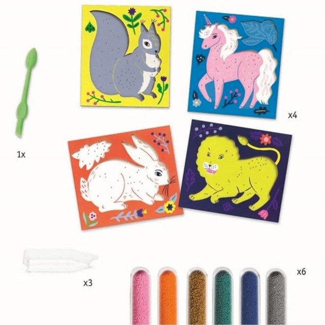 Djeco Schilderijen met mini kraaltjes
