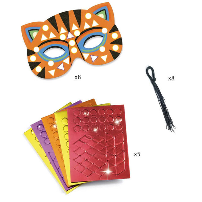 Djeco Do It Yourself - Dierenmaskers