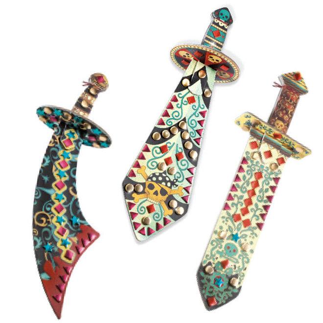 DIY knutselset zwaarden 5+