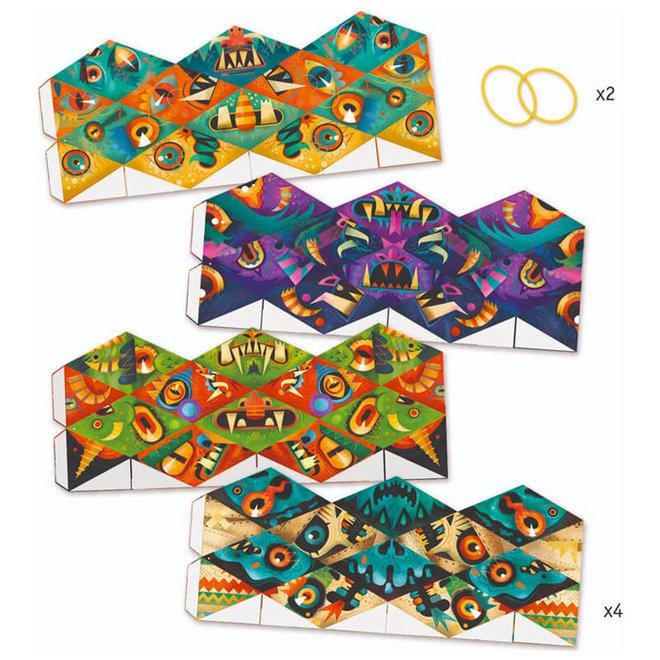 Djeco Origami Flexmonsters