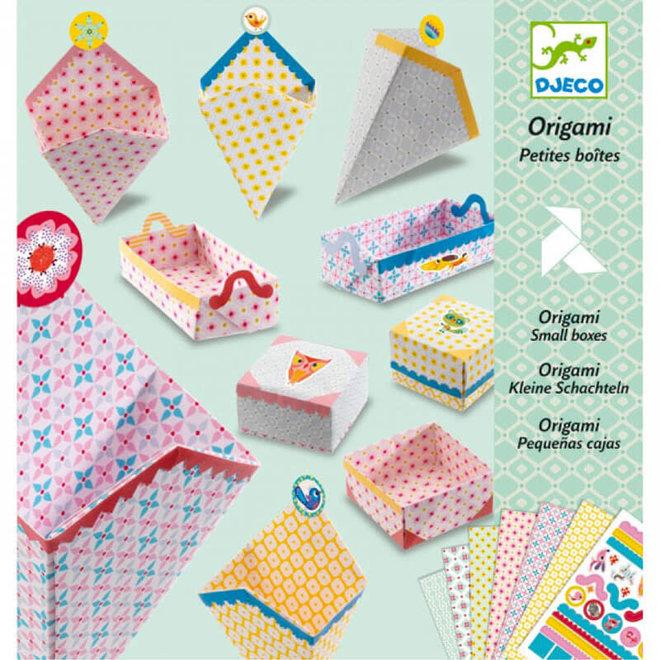 Origami doosjes 7+