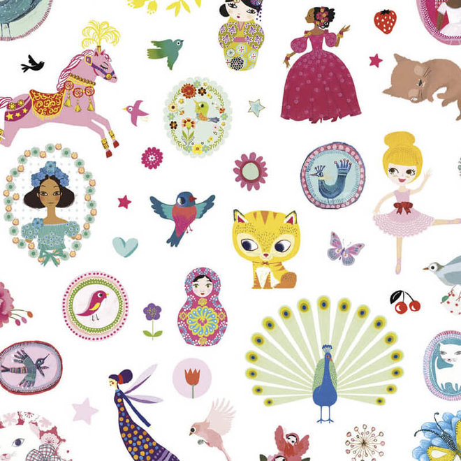 Djeco 1000 stickers 'Sweet'