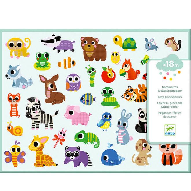Peuter stickers dieren 18m+