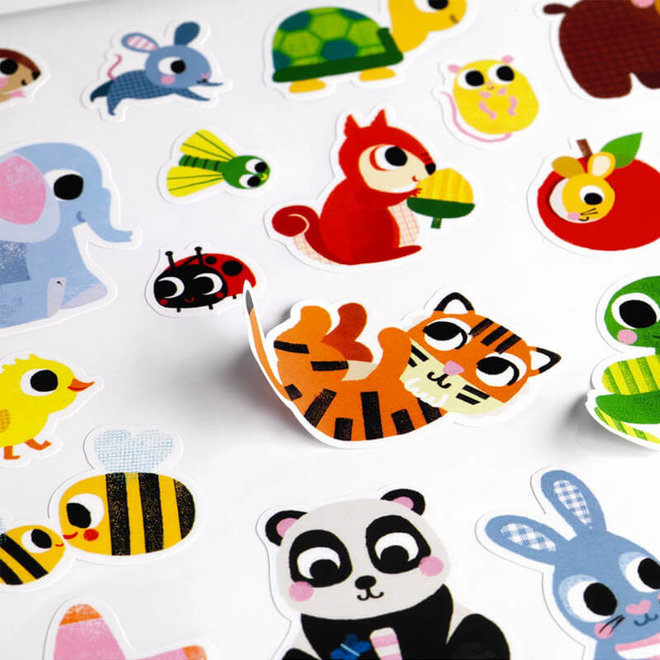 Grote stickers voor peuters
