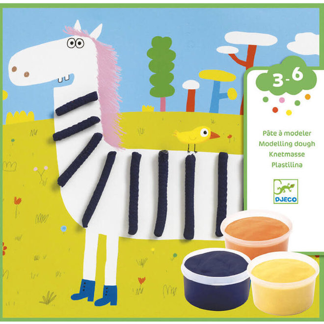 Djeco klei schilderijen patronen & dieren