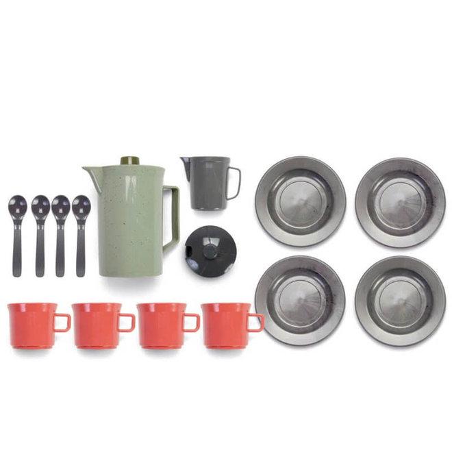Dantoy Green Bean - Koffie set