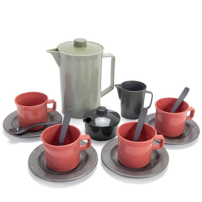 Koffie set (gerecycled plastic)