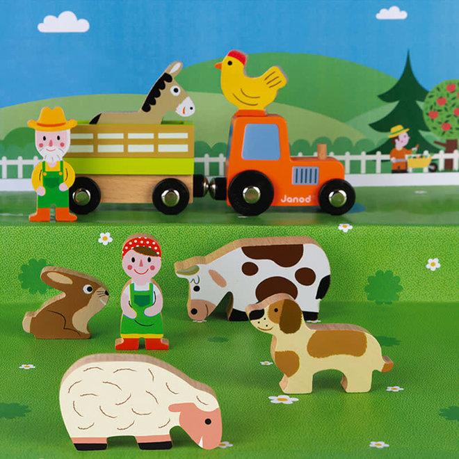 Janod Story boerderij set