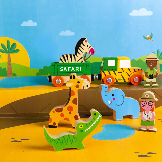Janod Story safari set