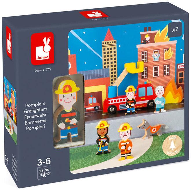 Janod Story brandweer set