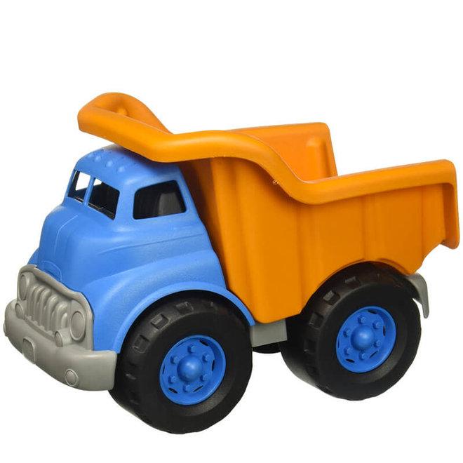 Kiepwagen blauw/oranje