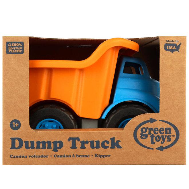Green Toys Kiepwagen blauw/oranje
