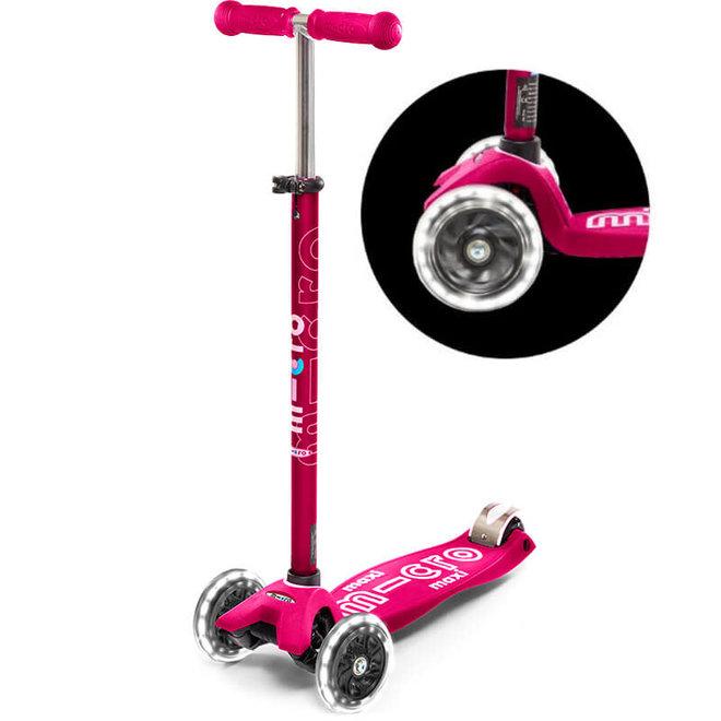 Maxi LED roze (5-12 jaar)