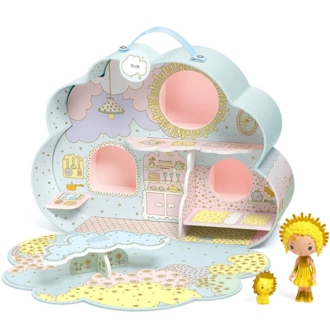 Djeco Tinyly huis van Sunny & Mia