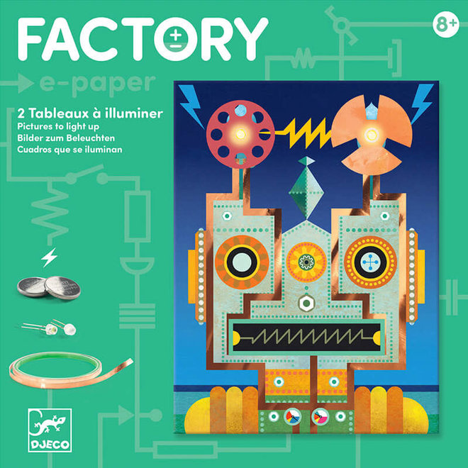 Djeco Factory art + technology robots