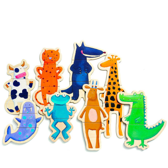 Magneten gekke dieren 2+