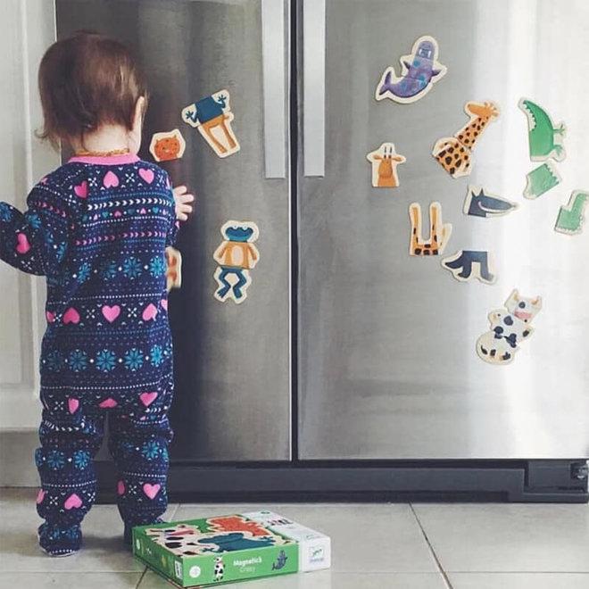 Djeco Magneten gekke dieren