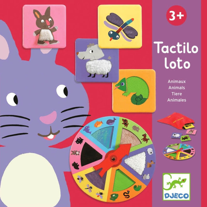 Djeco Tactile Lotto