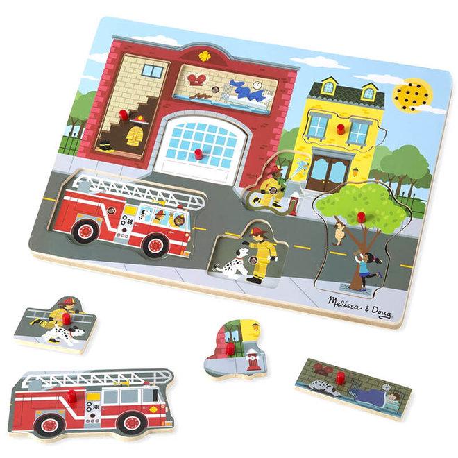 Geluiden puzzel - Brandweer