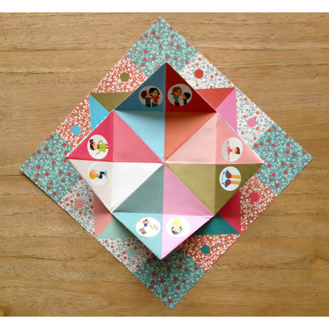 Djeco Origami toekomst voorspellers roze