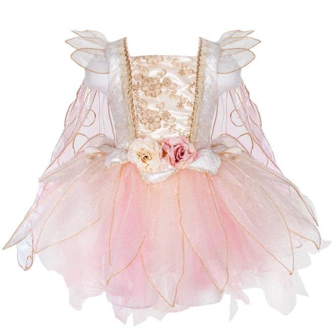 Jurk Golden Rose Fairy (5-6 jaar)