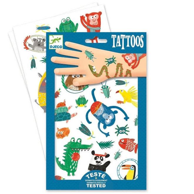 Djeco Tattoos Snoeten