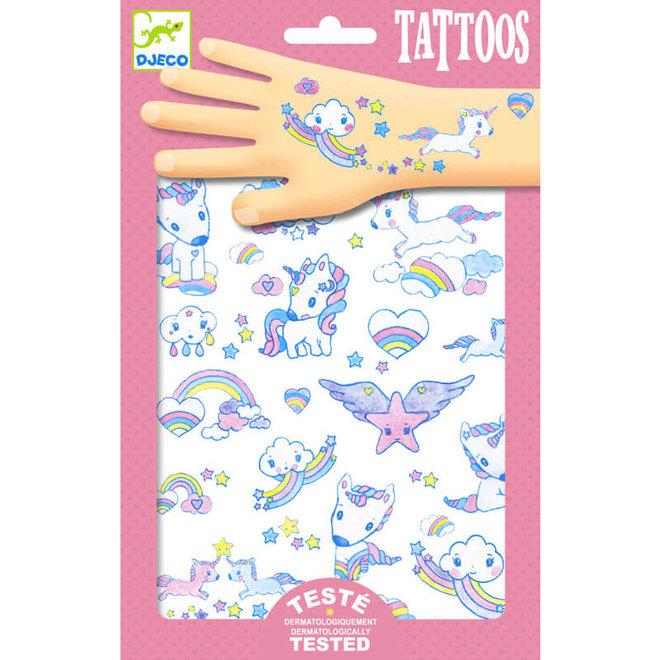 Tattoos eenhoorns