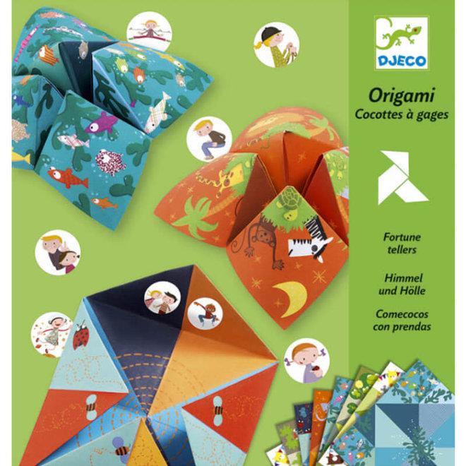 Djeco origami toekomst voorspellers - natuur