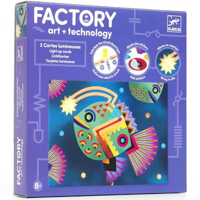 Djeco Factory art + technology zeedieren 8+