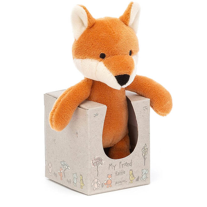 Rammelaar knuffeltje vos
