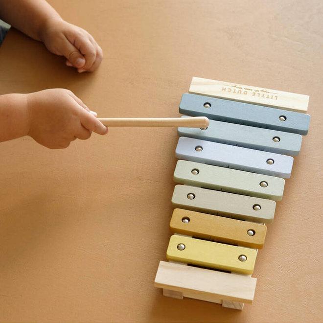Houten xylofoon 1+