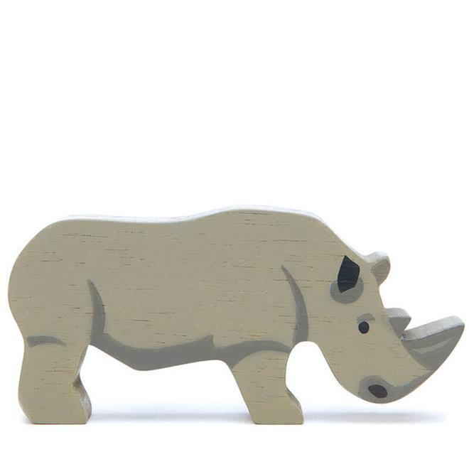Houten safaridier - Neushoorn